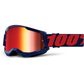 100% Strata Anti-Fog Goggles Gen2, masego/mirror
